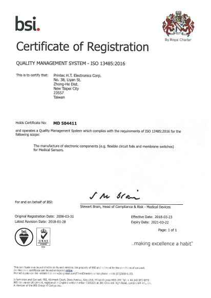 cht 證書 簡介 iso certificates